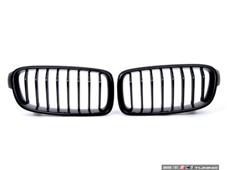 ES#2702587 - 51712240775KT - BMW Performance Blackout Grille Set - Beautiful gloss black finish - Genuine BMW M Performance - BMW