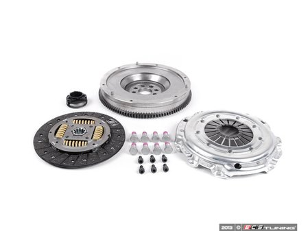 ES#2702808 - 52281208 - Single Mass Flywheel Conversion Kit - Upgrade from your failure prone dual mass flywheel with this kit. Includes single mass flywheel, clutch kit and hardware. - Valeo - BMW