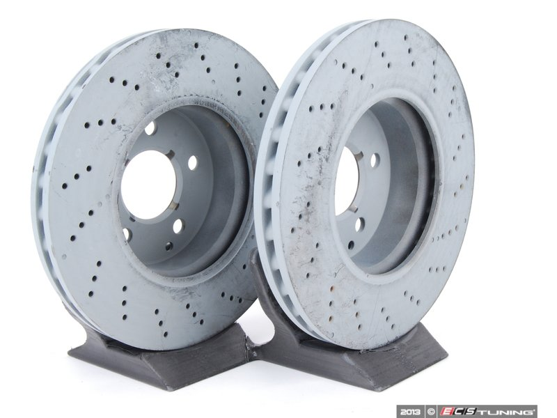 genuine mercedes benz 2044212812kt1 front brake rotors