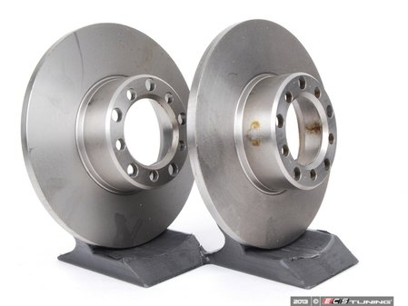 ES#2678171 - 1234210012KT4 - Front Brake Rotors - Pair - Keep your brakes working like new - ATE - Mercedes Benz