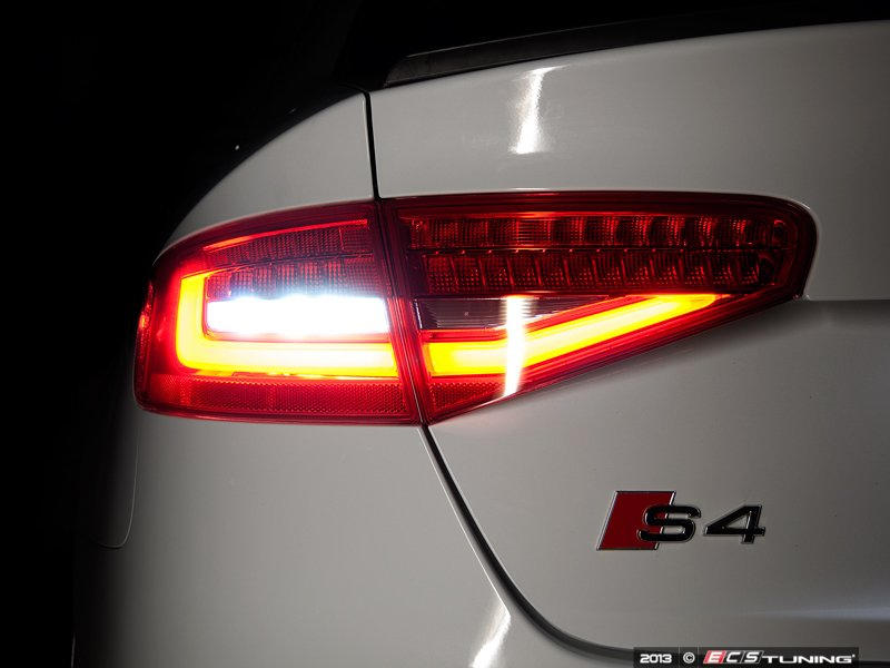 ecs news audi b8 s4 ziza led reverse light turn signal. Black Bedroom Furniture Sets. Home Design Ideas