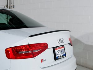 ES#2702249 - LS48-4 - Audi B8 A4/S4 Trunk Lip Spoiler - Add subtle styling cues to your A4/S4 with this ECS lip spoiler - ECS - Audi