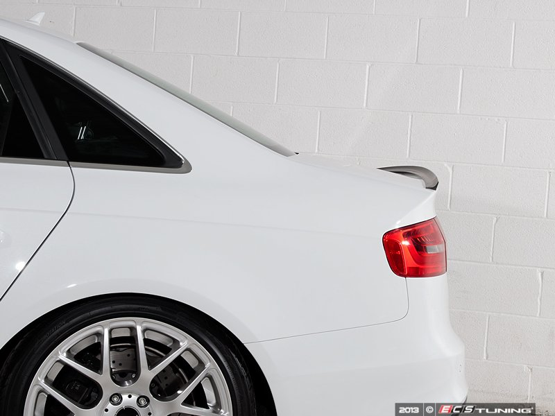 ecs news audi b8 s4 trunk lip spoiler. Black Bedroom Furniture Sets. Home Design Ideas