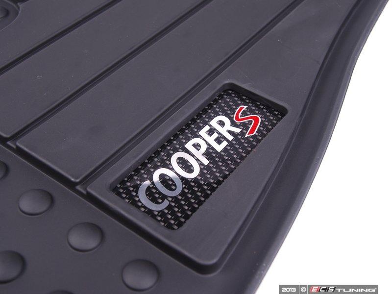 Genuine Mini 51472243920 Cooper Quot S Quot Logo Front Rubber