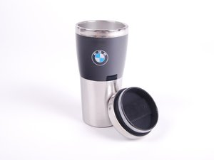 ES#2080856 - 80902208678 - BMW Fusion Travel Mug - Black - Made of stainless steel with BMW logo - Genuine BMW - BMW