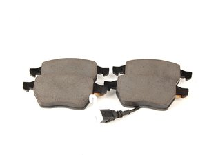 ES#308202 - 1J0698151K - Front Brake Pad Set - Composite pads that are a great solution for your daily driver - Genuine Volkswagen Audi - Audi Volkswagen