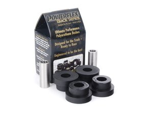 ES#2650848 - PFR85-509Bx2 - Race Polyurethane Lower Control Arm Bushings - Outer - Helps maintain proper suspension geometry for improved handling and less rear steer feeling - Powerflex Black Series - Audi Volkswagen