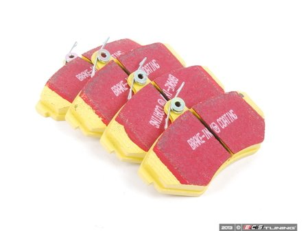 ES#520718 - DP41112R - YellowStuff Performance Brake Pads - Race quailty pad that can be used at the track then get you back home. - EBC - Volkswagen