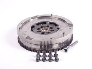 ES#2695832 - 21207542984KT - Twin Mass Flywheel - With Hardware - For vehicles with 6-speed manual transmission, includes 8 flywheel bolts and Schwaben T60 Torx socket for removal - Assembled By ECS - BMW