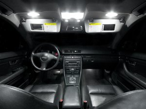 ES#2215391 - B6A4LEDINT -  Master LED Interior Lighting Kit - Transform your complete interior in minutes with new LED interior bulbs from Ziza - ZiZa - Audi