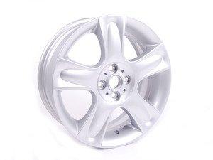 """ES#64830 - 36116763299 - R91 Star Bullet Wheel 17"""" (4x100) Silver - Priced Each - 17 x 7J ET:48 - Genuine MINI - MINI"""