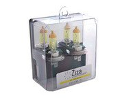 ES#8759 - ZZH7BSPYA -  Pure Yellow H7 Halogen Bulb - Pair - Comparable to 3000k HID color for increased intensity & visual appeal - ZiZa - Audi BMW Volkswagen Mercedes Benz MINI Porsche