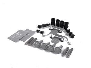 ES#2682253 - 34116776526KT - Front Pad And Rotor Installation Kit - Includes everything to install new front brakes including guide bolts and bushings - Genuine BMW - BMW