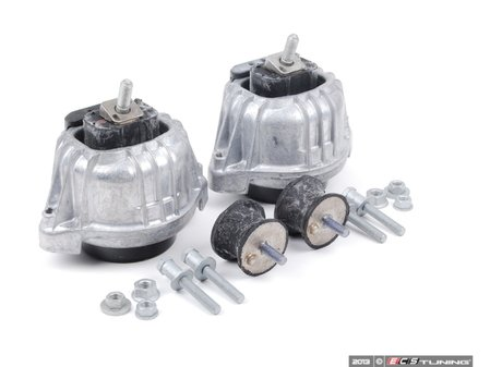 ES#2695397 - 22116760330KT1 - Motor And Transmission Mount Kit - Includes all mounting hardware - Assembled By ECS - BMW