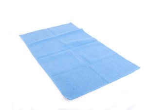 "ES#2619182 - MIC70101 - Glass and Window Waffle Weave Towel 18"" x 30""  - Keep those window clean and streak free - Chemical Guys - Audi BMW Volkswagen Mercedes Benz MINI Porsche"