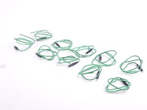 ES#2598030 - 61130007444KT - Circular Contact With Wire Lead - Pack Of 10 - 1.0 - 2.5mm 2.5 watertight - Genuine BMW - BMW