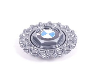 ES#65738 - 36132226806 - Hub Cap - priced each - Wheels designed to be used with center caps look incomplete without them - Genuine BMW - BMW