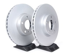 ES#2550735 - 34116793245KT - Front Brake Rotors - Pair (332x30) - From a leader in braking technology. - Brembo - BMW
