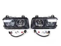 ES#2713222 - HB3E36DPZKWE -  European Projector Headlight Set - smooth glass - ZKW style ECE lighting, vastly improve your lighting performance. - Depo - BMW