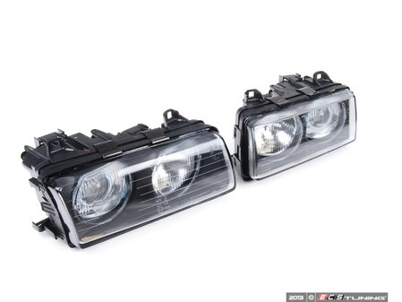 ES#2713222 - HB3E36DPZKWE -  European Projector Headlight Set - smooth glass - ZKW style ECE lighting, vastly improve your lighting performance. - Depo - BMW
