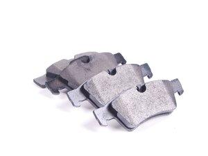 ES#2681348 - 1644201920 - Rear Brake Pad Set - Does not include new wear sensor - OP Parts - Mercedes Benz