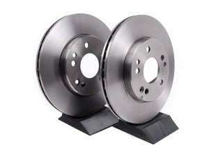 ES#2622608 - 1244211612KT1 - Front Brake Rotors - Pair - Does not include new rotor securing screws - Brembo - Mercedes Benz