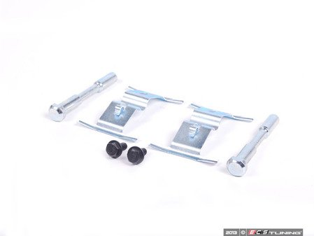 ES#252203 - 7L0698269A - Front Brake Caliper Hardware Kit - Necessary hardware when replacing your brake pads. Services both front calipers. - ATE - Audi Volkswagen
