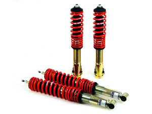 "ES#5531 - 29865-5 - Street Performance Coilover Kit - Unrivaled comfort and performance. Average lowering of 1.25""-2.0""F 1.25""-2.5""R - H&R - Volkswagen"