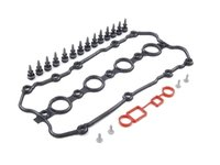 ES#2695715 - 06F103483D - Valve Cover Gasket Kit - All the gaskets and hardware necessary when replacing your leaky valve cover gasket - Assembled By ECS - Audi Volkswagen