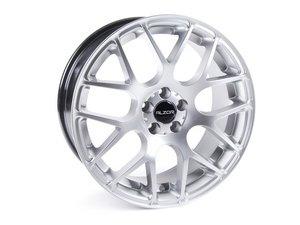 "ES#2703320 - 349A-4 - 18"" Style 349 Wheels - Set Of Four - (NO LONGER AVAILABLE) - 18""x8"" ET30 5x100 - Hyper Silver - Alzor -"
