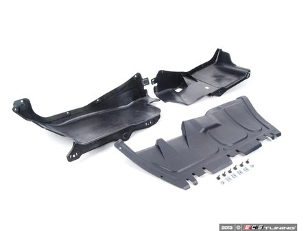 ES#2703293 - 1J0825237R - Weather Protection Package - Stage 1 - Includes belly pan, side covers, and necessary hardware - Assembled By ECS - Volkswagen