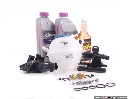 ES#2608173 - 06F121111FKT5 - Cooling System Refresh Kit - Level 3 - Replace critical cooling system components and perform a proper coolant system flush! - Assembled By ECS - Audi