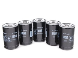 ES#1884350 - 078115561K - Oil Filter - Pack Of Five - Stock Up And SAVE! - Mann - Audi