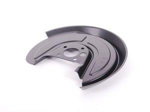 ES#2202397 - 1J0615610 - Rear Splash Shield - Right - Protect your brakes from dust, debris and moisture - Genuine Volkswagen Audi - Volkswagen