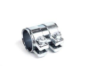 ES#3569860 - 893253139C - Dual Clamp Exhaust Sleeve - Priced Each - Quiet down your leaking exhaust. 60mm - Eberspaecher - Audi