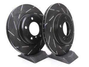 ES#523018 - USR932 - Front Ultimax USR Sport Brake Rotors - Pair (300x22) - High performance slotted rotors from EBC - EBC - BMW