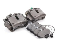 ES#69 - G60CUKWP - OE Dual Piston Caliper Upgrade Kit, W/Mintex Red Box Pads - Includes a $70 refundable core charge - Assembled By ECS - Volkswagen