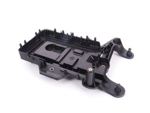 ES#318250 - 1K0915333H - Battery Tray - Provides seating for the battery in the engine bay and has mounting locations for the air box - Genuine Volkswagen Audi - Audi Volkswagen