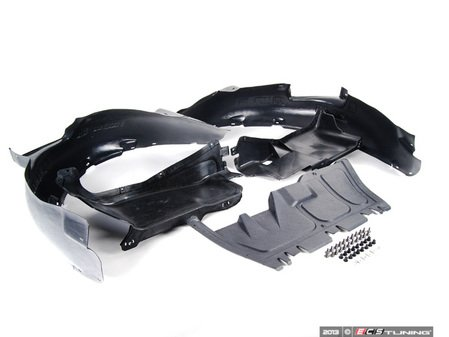 ES#2703298 - 1J0825237R - Weather Protection Package - Stage 2 - Includes belly pan, side covers, front fender liners and necessary hardware - Assembled By ECS - Volkswagen