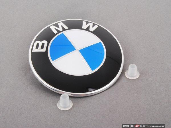 Genuine Bmw 51148132375 Bmw Emblem Roundel With Grommets
