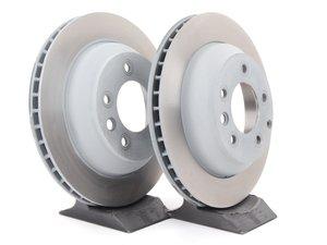 "ES#2539340 - 95535240131KT7 - Rear Brake Rotors - Pair 12.99"" (330mm) - Rear axle fitment - Both left and right - Sebro - Porsche"