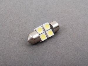 ES#2515350 - pl31mm45050wht - 31mm White LED Festoon Bulb - Priced Each - 3175 4 Chip White LED Festoon Bulb - ZiZa -
