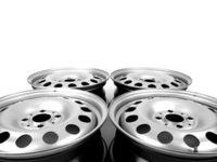 ES#2707750 - 36116768497KT - Steel Wheel Silver - Set Of Four - 15 x 5.5 , Et45, 4x100 bolt pattern. Also know as steelies. - Genuine MINI - MINI