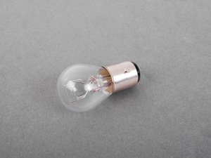 ES#1624545 - 072601012210 - 7528 Dual Filament Halogen Bulb - Priced Each - (P21/5W) Style Dual-Filament Clear Bulb - Genuine Mercedes Benz - Volkswagen Mercedes Benz