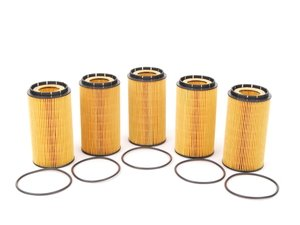 ES#514225 - 07C115562E - Oil Filter - Pack Of 5 - Stock Up And SAVE! - Stock up and save - Hengst - Audi Volkswagen