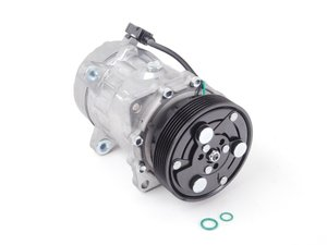 ES#2568526 - 1J0820803L - A/C Compressor  - Includes the electromagnetic clutch assembly - Behr - Audi Volkswagen