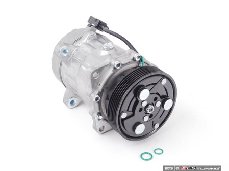 ES#2568526 - 1J0820803L - A/C Compressor  - Includes the electromagnetic clutch assembly - Behr - Audi Volkswagen