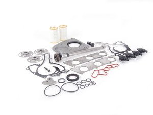 ES#1893777 - 2720300613 - Engine Balance Shaft Kit  - Includes the balance shaft, rear counterweight, counterweight securing bolt and all related seals/gaskets to be replaced. - Genuine Mercedes Benz - Mercedes Benz