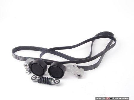ES#2681030 - 11281742013KT - Accessory Belt Kit - Utilizes high quality aftermarket components - Assembled By ECS - BMW