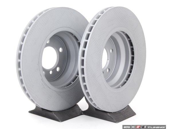 Zimmermann - 34116750267 - Front Brake Rotors - Pair (348x30)